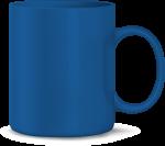 Tasse, blau (Laser)