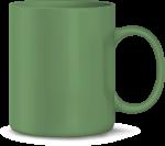 Tasse, grün (Laser)