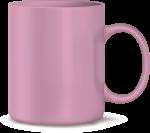 Tasse, rosa (Laser)